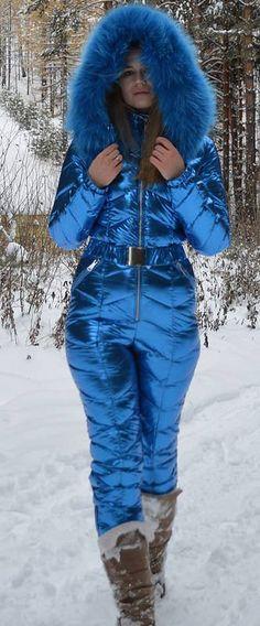 odri - shiny blue | skisuit guy | Flickr