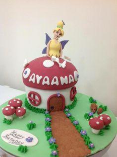Tinkerbelle theme cake