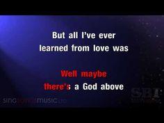 Hallelujah - Karaoke HD (In the style of Alexandra Burke) - YouTube