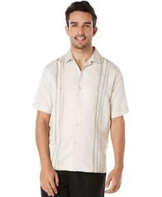 Cubavera Tuck Panel Shirt