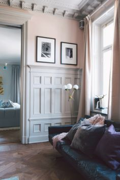 Pantone 2016 Color of the Year: Products We Love Blush Walls, Pink Walls, Pantone 2016, Home Interior, Interior And Exterior, Interior Decorating, Interior Colors, Gray Interior, French Interior