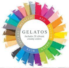 Retrouvez les Gelatos sur la Boit'A Scrap La Boit'A Scrap : La caverne aux merveilles pour les passionnés de Scrapbooking