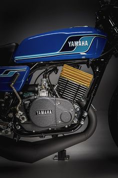 The Seventies might have seen the introduction of the four-stroke Japanese superbikes but for a young lad looking to emulate his race day heroes it was a decade… Yamaha Rx 135, Dt Yamaha, Yamaha Motorcycles, Vintage Bikes, Vintage Motorcycles, Xt 600 Scrambler, Motorbike Parts, Karts, Bike Engine