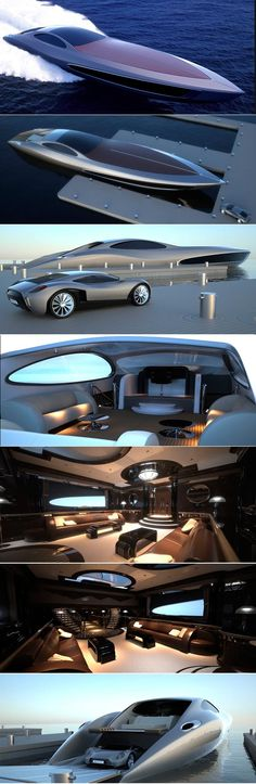 Strand Craft super yacht (with free supercar.of course) Eso será mio! Yacht Design, Yachting Club, Yacht Interior, Interior Design, Yacht Boat, Speed Boats, Jet Ski, Water Crafts, Luxury Life