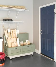 s 13 clever garage storage ideas from highly organized people, garages, organizing, storage ideas, Make a designated spot for scrap wood