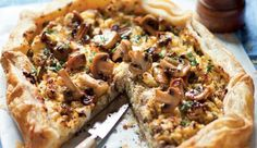 This crispy savoury tart is perfect for al fresco dining.