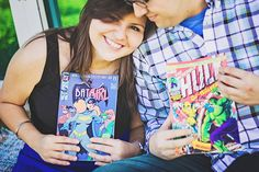Yanalli &  Jay's Superhero Engagement Session by Iliasis Muniz Photography South Padre Island, Texas