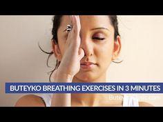 Buteyko Breathing Exercises in 3 minutes by Patrick McKeown Vagus Nerve, Yoga Breathing, Asthma Symptoms, Yoga Nidra, Breathing Techniques, Hormone Balancing, Pranayama, Natural Healing, Helping Others