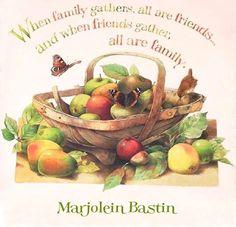 Family & Friends ... Marjolein Bastin
