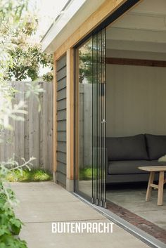 When age-old around idea, this pergola has been having somewhat of a modern day renaissance Exterior Doors With Glass, Sliding Glass Door, Balcony Design, Garden Design, Door Design, House Design, House Extension Design, Patio Enclosures, Outdoor Living