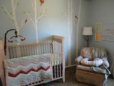 Forest Themed Boy Nursery