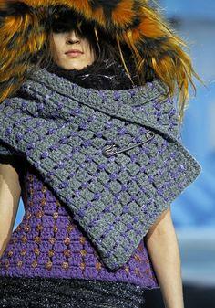 마크 제이콥스에 사용된 코바늘 무늬 : 네이버 블로그