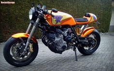 RocketGarage Cafe Racer: Honda CBX 1000 Slick Six