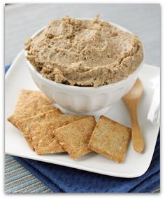 Lentil Walnut Pate- Vegan chopped liver (Plant-Based Nutritarian Weight Loss Recipe Blog)