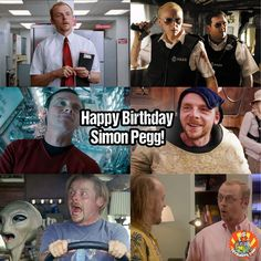Happy Birthday to Simon Pegg who turns 47 today! He managed to appear in both #StarWars AND #StarTrek!