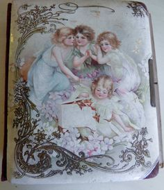 Victorian French Celluloid Picture Album