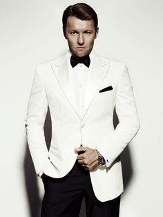 Man Of Style Joel Edgerton A White Tuxedo