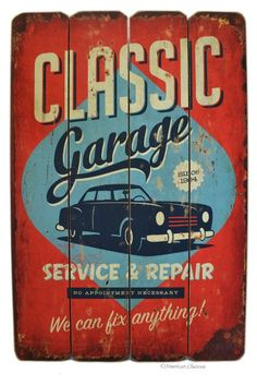Classic Auto, Classic Cars, Vintage Signs, Vintage Posters, Cigar Lounge Man Cave, Tumblr Pattern, Rockabilly Art, Car Wall Art, Old American Cars