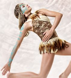 Curtain Call Costumes® - Warrior Dance And find a longer skirt for it. Tiger Lily
