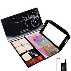 TYA Laptop Fashion Makeup Kit With 48 Color Eye Shadow Compact Blusher Etc -590......  Looking good Isn't Self importance , Iy's Self Respect......