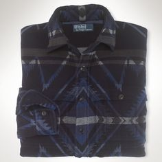 Bedrucktes Custom-Fit Arbeitshemd - Custom-Fit Sporthemden - Ralph Lauren Deutschland