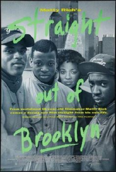 Straight Out Of Brooklyn Movie Poster 24inx36in