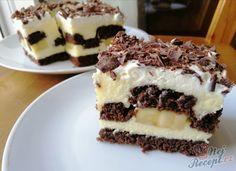 Slovakian Food, Cake Recipes, Dessert Recipes, Ice Cream Candy, Czech Recipes, Gateaux Cake, Pavlova, No Bake Cake, Amazing Cakes