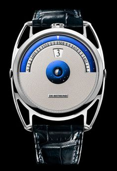 De Bethune Jumping hour Swiss Luxury Watches   Collections