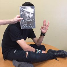 May #bookfacefriday live long and prosper!   #leonardnimoy #bookface…