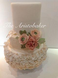 Vintage Bouquet wedding cake