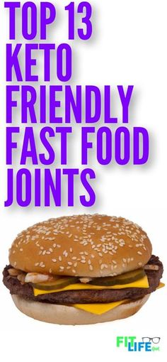 Weight Loss Plans Water You dont always have time to prepare meals, so be prepared when you need to eat on the go with this guide to the top 13 keto diet friendly fast food restaurants. Keto Foods, Foods To Eat, Ketogenic Recipes, Diet Recipes, Juice Recipes, Keto Meal, Vegetarian Recipes, Fast Foods, Flour Recipes
