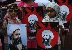 Protestos contra a morte de Nimr al-Nimr ocorreram na Arábia Saudita, Irã, Líbano e Bahrein (foto: EPA)