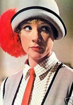 """Thoroughly Modern Millie -- best """"pick-me-up"""" movie!! I always think of my cousin Tiffany when I see Julie Andrews as """"Millie"""""""