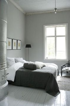 Do you think that living in a place that has real winter contributes to understanding the calming impact of a neutral palette?