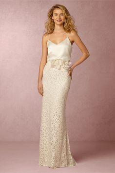 BHLDN Mia Top & Ellory Skirt in  Bride Bridal Separates at BHLDN