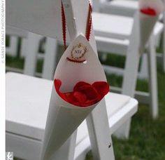 Idées déco pour un mariage rouge amour...