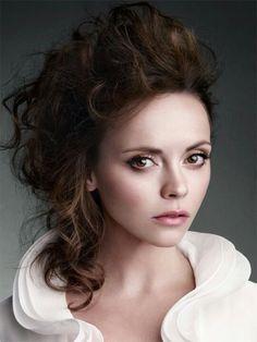 Beautiful makeup on Christina Ricci.