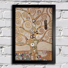 Gustav Klimt - Árvore da Vida — Encadreé Posters