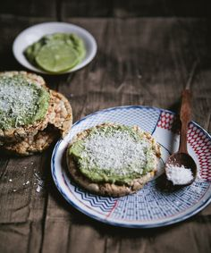 Snack Recipe: Raw Avocado Lime Mousse on Rice Cakes