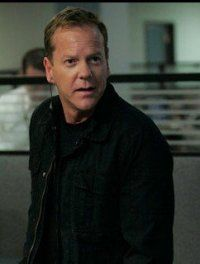 Kiefer Sutherland as Jack Bauer on 24.