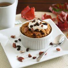 Pumpkin Pie Instant Baked Oatmeal