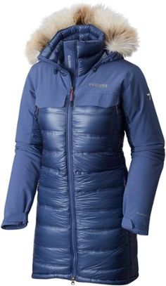 Columbia Women's Heatzone 1000 TurboDown Long Hooded Parka Jacket
