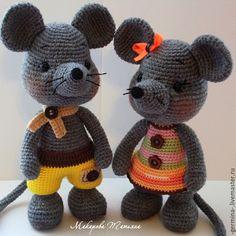 Игрушки животные, ручной работы. Ярмарка Мастеров - ручная работа. Купить Мышки.... Handmade. Мышки, игрушка ручной работы