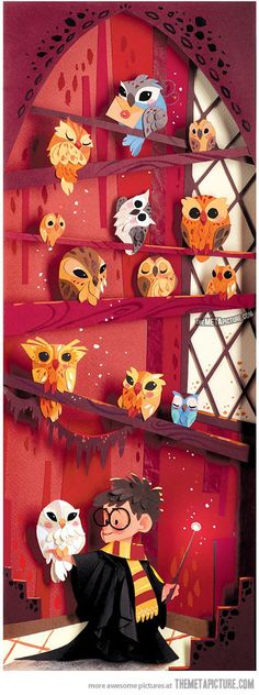 I saw this once and couldn't find it again when I looked- hooray Pinterest! Love this hp fan art!