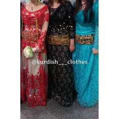 The Beauty of Kurdish Dresses.