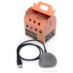 USB Pet Rock - $9.99 // A modern version of the 1970s pet rock