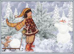 Poezii scurte de iarnă pentru copii
