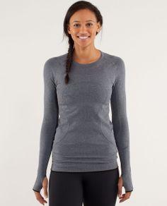 run: swiftly tech long sleeve | women's tops | lululemon athletica