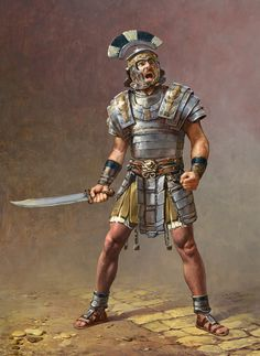 Ryse: Son of Rome by Sasha Beliaev & Lena Rivkina Roman History, Art History, Ryse Son Of Rome, Roman Armor, Roman Centurion, Ancient Armor, Rome Antique, Roman Warriors, Roman Legion