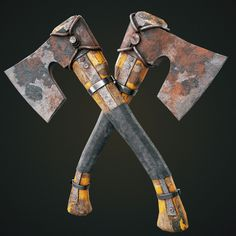 ArtStation - Metal Hatchet (survival ed), Evgeny Leonov Survival, Texture, Metal, Weapons, Artwork, Characters, Surface Finish, Weapons Guns, Guns